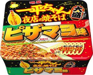 一平ちゃん夜店の焼そば 大盛 ピザマヨ味