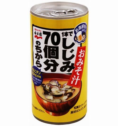 1本でしじみ70個分のちから 缶みそ汁